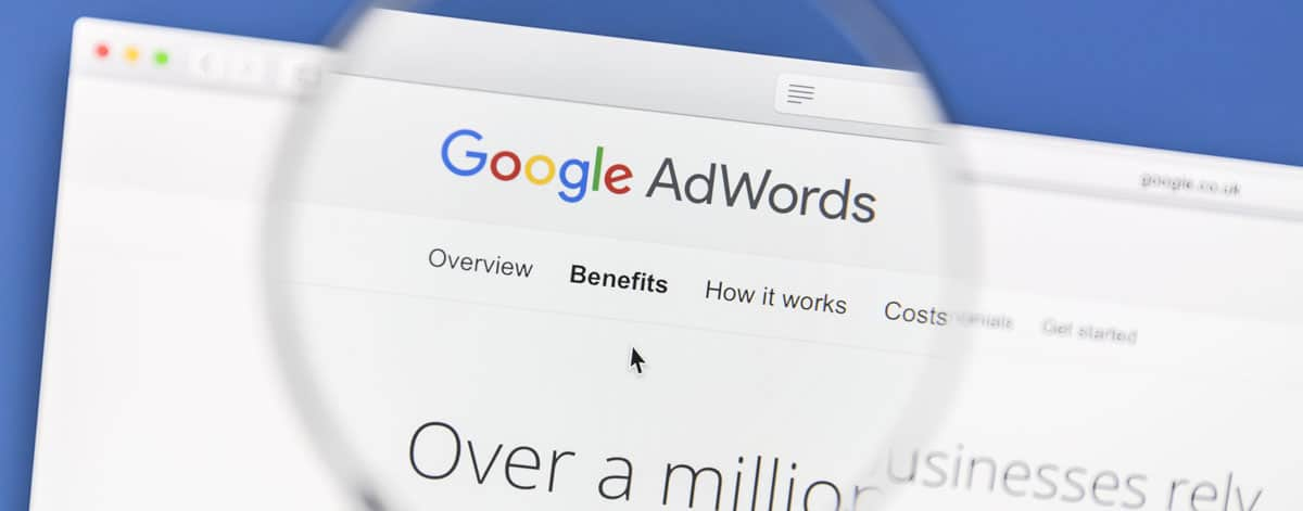 Google adwords pod lupou